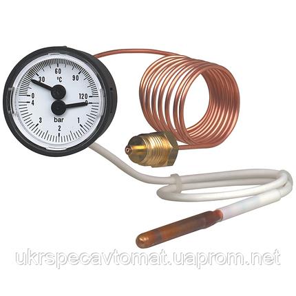 Термометр с манометром (термоманометр) Модель MFT., фото 2