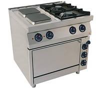 Комбинированная плита (газ/электро) Kogast KS-T(2+2)7/P без духовки (800х700х900 мм)