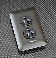 Родиевая Hi-End аудиофильская  розетка  VooDoo PowerPhase AC Outlet, фото 1