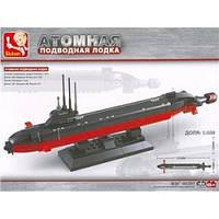 """Конструктор SLUBAN """"Атомная подводная лодка"""", 193 деталей"""