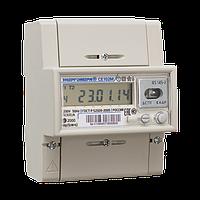Однофазный счетчик электроэнергии двухзонный многотарифный CE102M-R5