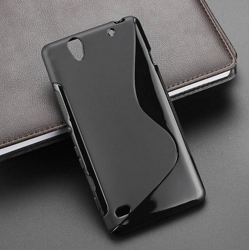 Чехол Sony C4 / E5333 силикон TPU S-LINE черный