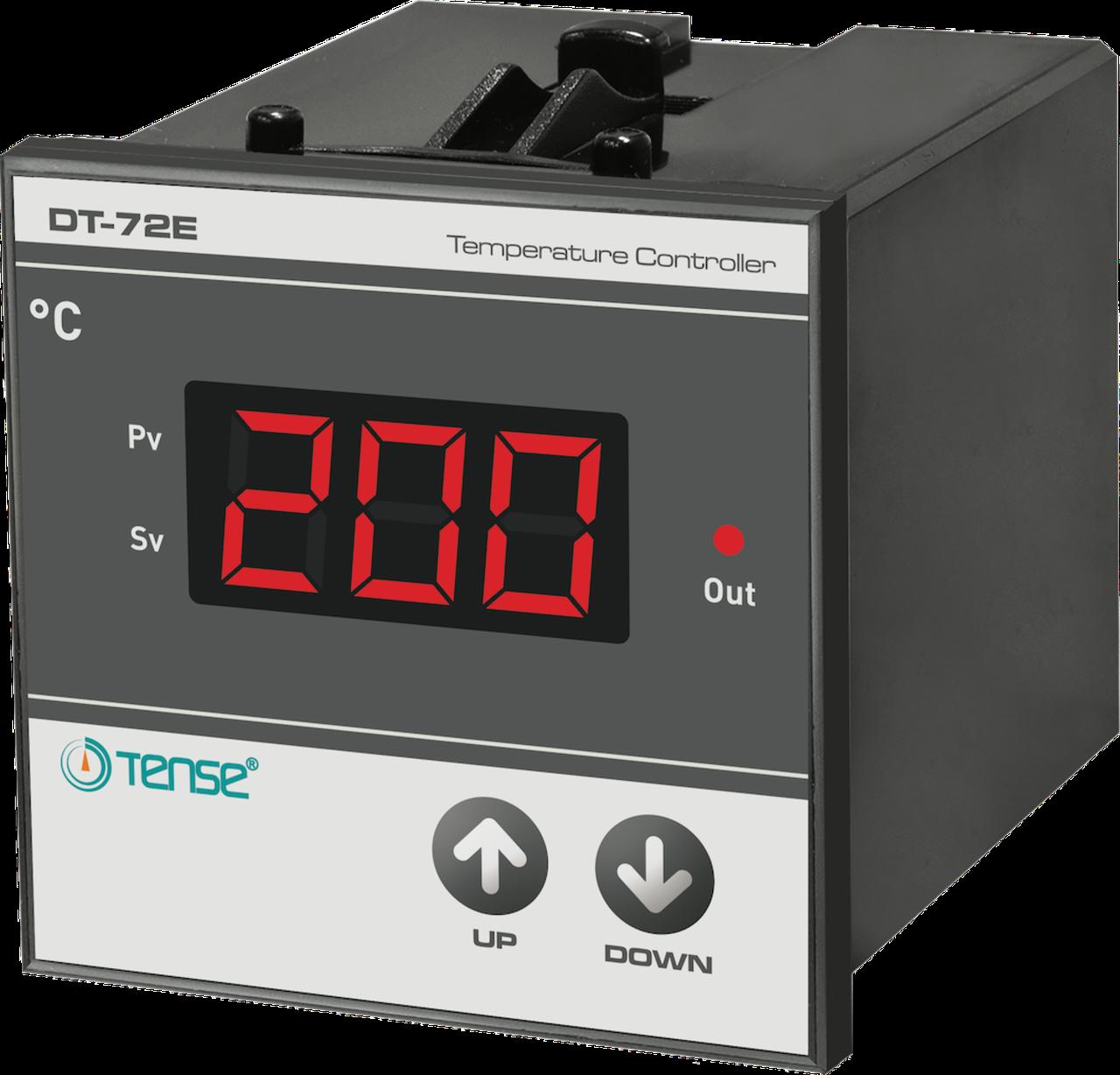 Реле контроля температуры промышленное 0...600°C TENSE монтаж в щит корпус 72*72 купить цена