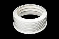 Перехід гума діаметр 124 х 110 білий