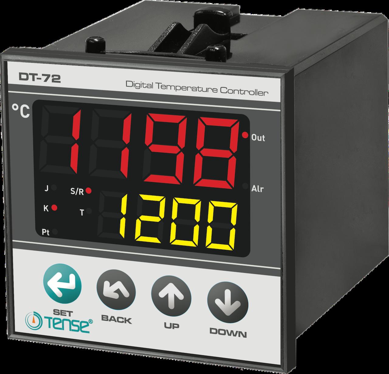 Температурный ПИД  контроллер реле контроля температуры приборный щитовой 72х72 TENSE