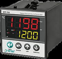 Температурный ПИД  контроллер реле контроля температуры приборный щитовой 72х72 TENSE, фото 1