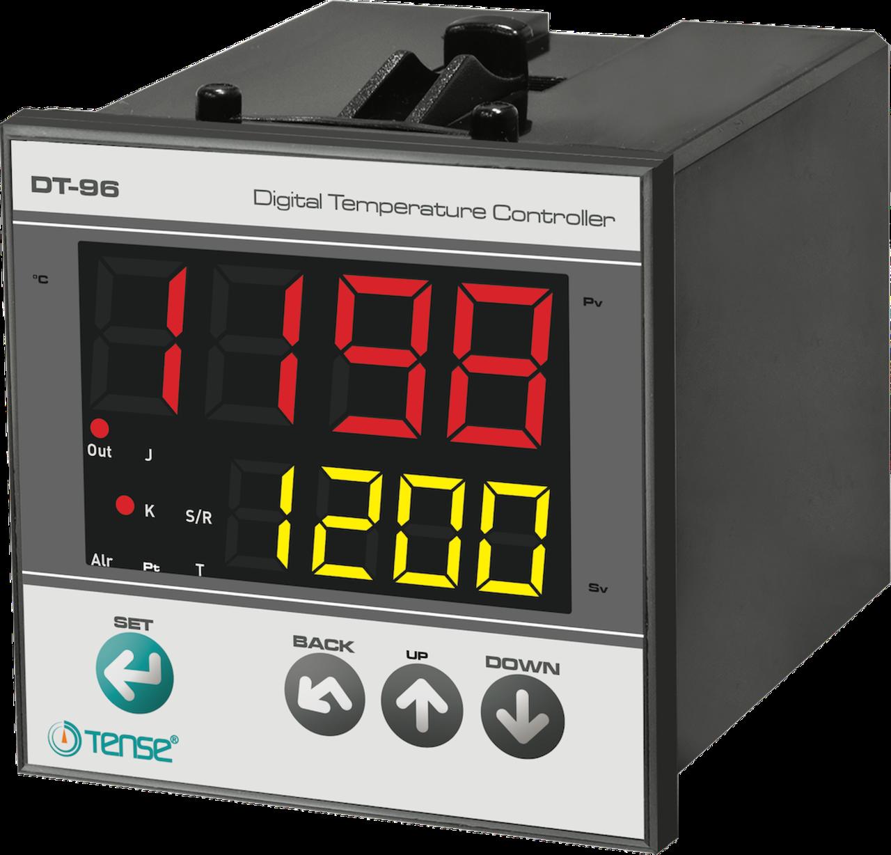 Температурный контроллер ПИД  регулятор ТЕНСЕ 96х96 реле температуры воздуха прибор щит купить цена