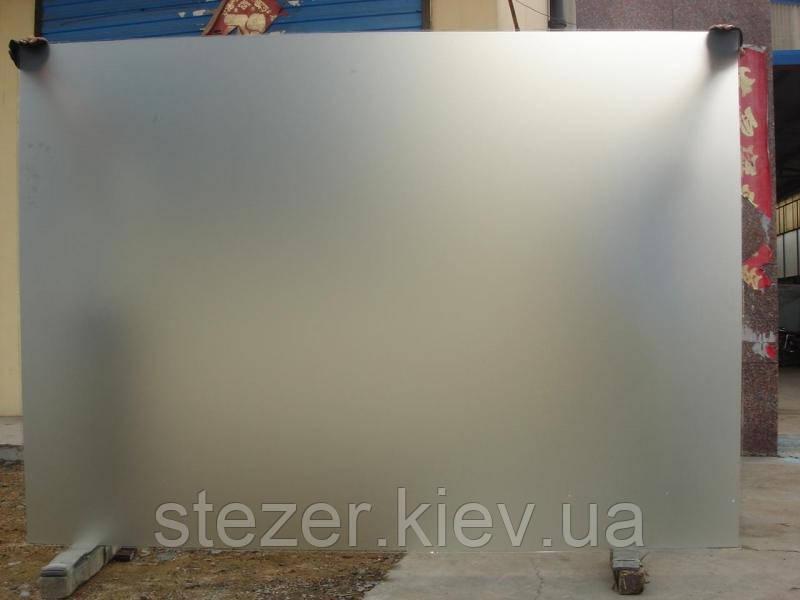 Матовое стекло Сатин белый 6 мм