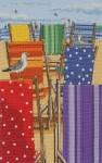 """Набор для вышивания """"Радужные шезлонги (Rainbow Deckchairs)"""" ANCHOR"""