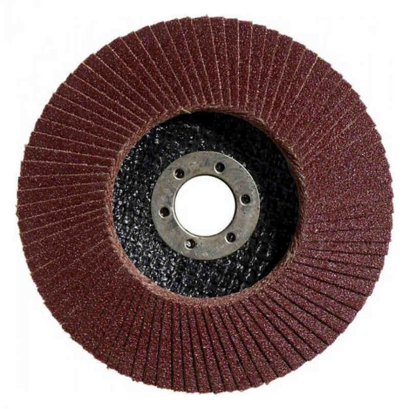 Лепестковый круг Bosch Standard for Metal Ø180 K40 пластмассовая прокладка
