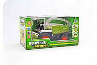 Детская игрушка «Комбайн. Помощник Фермера» (инерционный) M 0344 U/R