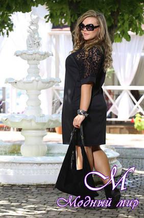 Женское красивое платье больших размеров (48-90) арт. Бруклин, фото 2