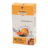Антисептическое мыло Антиакне для жирной кожи с Апельсиновым маслом и Чайного дерева 100г