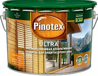 Pinotex Ultra. Древозащитный лак с антисептиком для древесины.