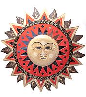 Солнце мозаичное зеркало