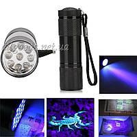 Ультрафиолетовый фонарь для проверки денег