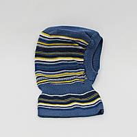 Шапка шлем вязанная р.44-48