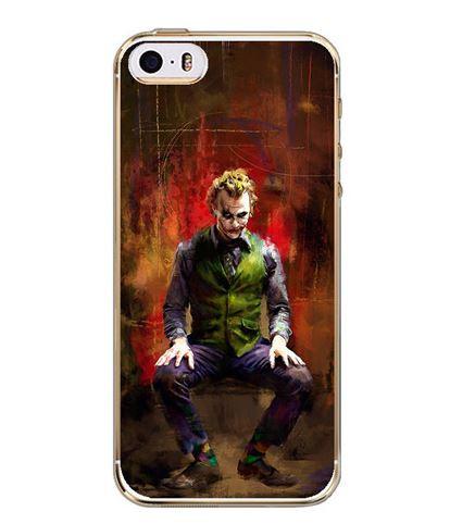 Оригинальный силиконовый чехол для Iphone 5 / 5S с рисунком Джокер