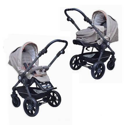 Детская коляска 2 в 1 BE YOU V3 (кожа) Teutonia, фото 2