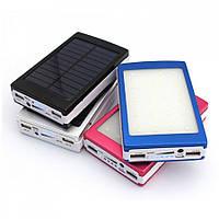 Зарядное устройство Power Bank Solar на солнечной батарее 15000 mAh + сверхяркая 20 LED панель