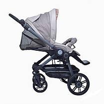 Детская коляска 2 в 1 BE YOU V3 (кожа) Teutonia, фото 3