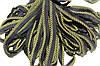 Кант текстильный (50м) черный+желтый