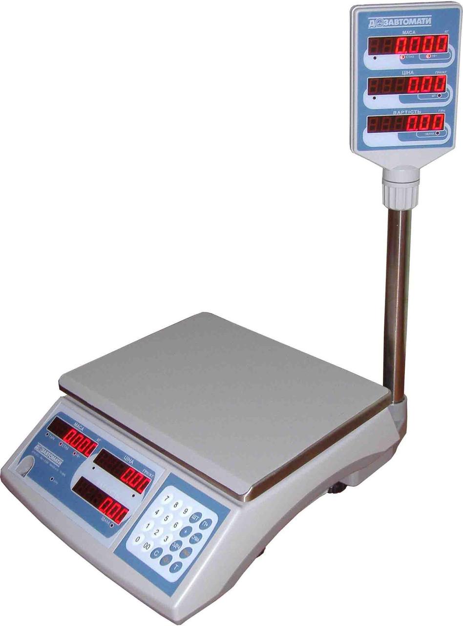 Весы электронные торговые ВТНЕ-Т2К