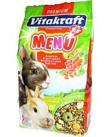 Корм для кроликов Vitakraft Menu Vital (Витакрафт меню) 3 кг
