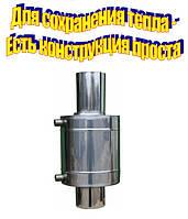 Встановлюємо теплообмінник на димохід