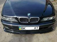 Губа юбка переднего бампера тюнинг обвес BMW E39 до рестайл