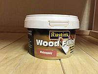 Порозаполнитель для древесины Wood filler  600гр. красное дерево