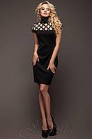 Элегантное черное платье Молли  42,46 размеры Jadone