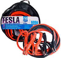 Провода для прикуривания Tesla ПП-40651 600A (до -50С) 4,0m в чехле