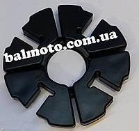 Резинки  (демпферные) цельные мотоцикл CG 125/150