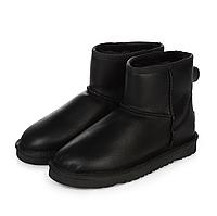 UGG Classic Mini Black Leather, фото 1