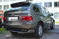 Спойлер козырек тюнинг BMW X5 E53 стиль Hamann