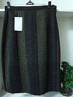 Женская классическая теплая юбка ресничка