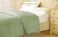Одеяло -покрывало Charter Club оливковое 229х234см