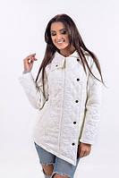 Женская куртка Ассиметричный Ромб