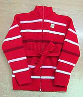 Кофта вязанная для девочки 2-5лет