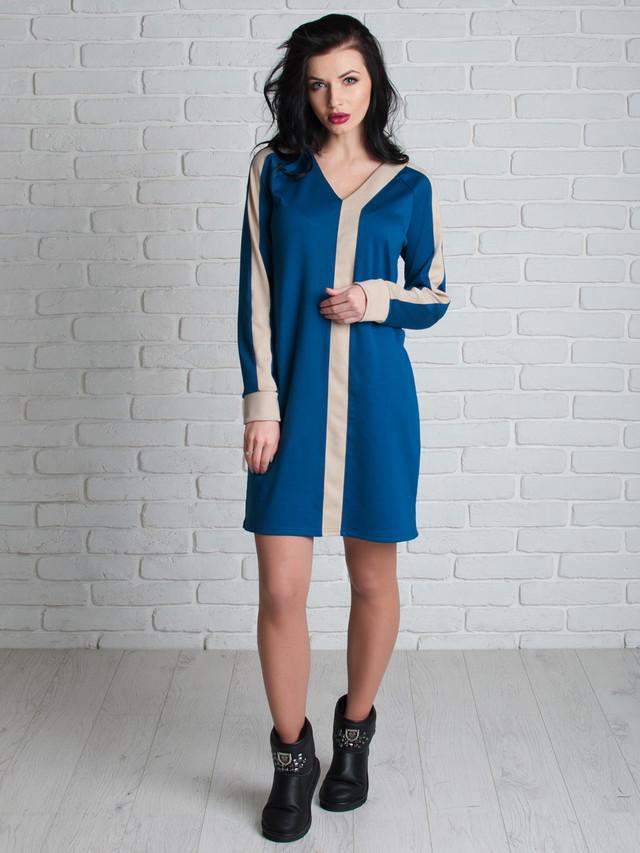 Трендовое платье в стиле оверсайз