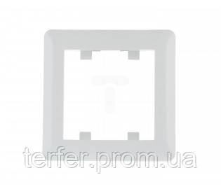 Рамка 1-кратная Lumina-2, белая
