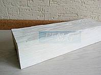Декоративная балка 6х9 EQ107 Рустик белая