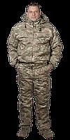 Камуфляжный костюм зимний, мультикам