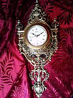 """Часы """"Лондон"""" настенные из бронзы"""