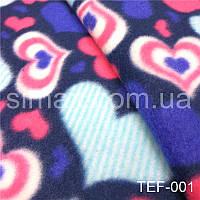Флис, флисовая ткань, утеплитель флис принт, флис с рисунком