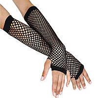 Кружевные перчатки по локоть, длинные