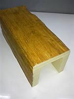 Декоративная балка 12х12 ED106 Модерн светлая