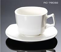 Чашка для чая с блюдцем квадро
