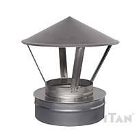Зонт вентиляционный 180/250 Н/ОЦ двустенный